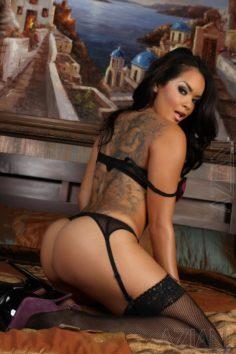 Tattooed Pantyhose Daisy Marie